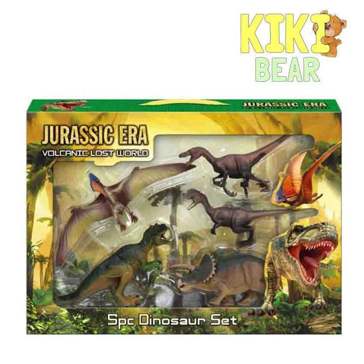 5pc Dinosaur Set
