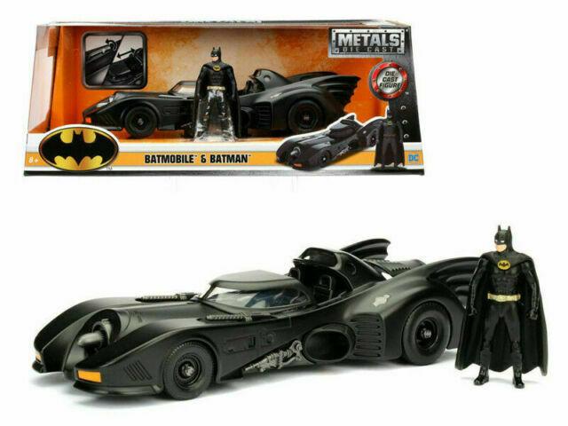 Batmobile & Batman