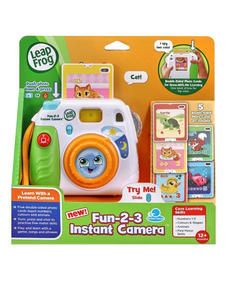 Leafrog Fun-2-3 Instant Camera