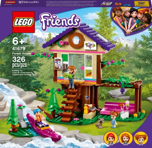 Lego Friends Forest Treehouse