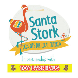 Santa Stork and Toy Barnhaus