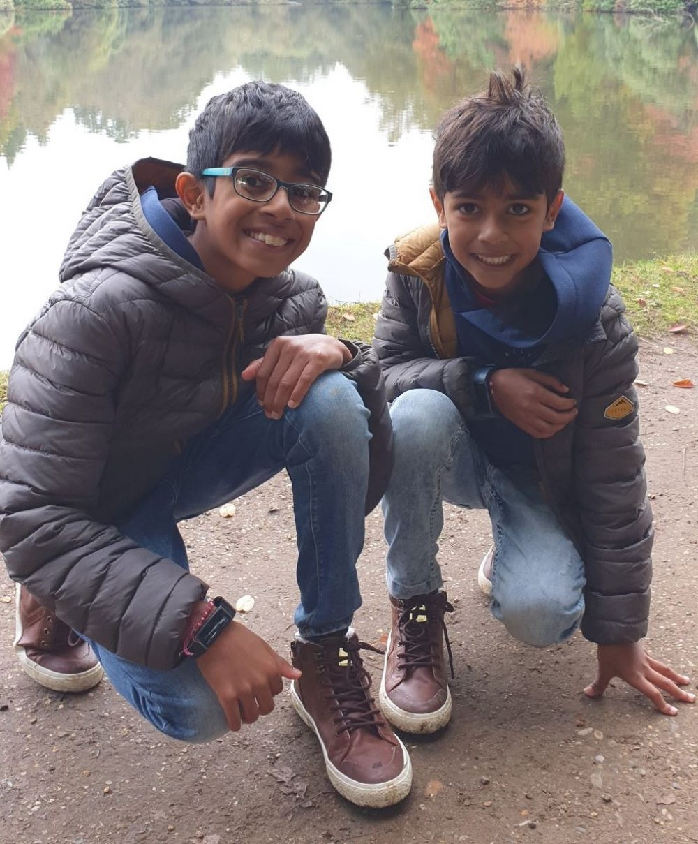 Taran and brother3